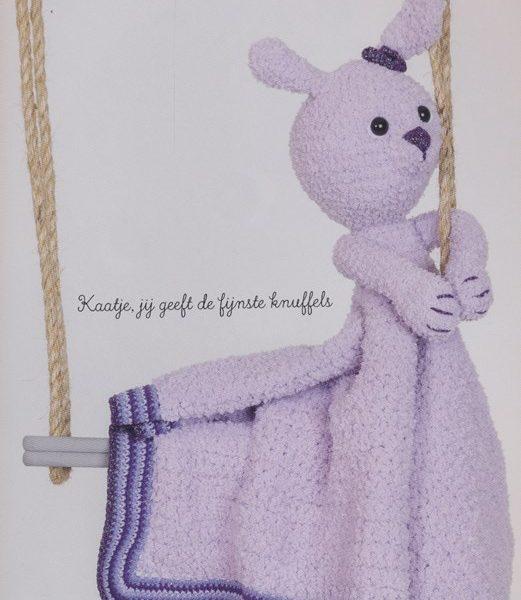 Woolytoons Knuffeldeken kaatje het konijn